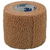 "3M Coban Self-Adherent Wrap #1581 (1x5 yds.) each"""""