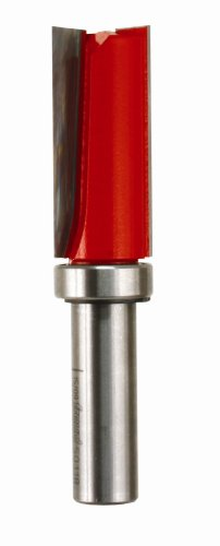 Freud 50-118 Top Bearing Flush Trim Router Bit, 3/4-Inch Diameter by 1-3/4-Inch Carbide Cutting Length 1/2-Inch Shank