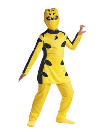 [Yellow Power Ranger Costume] (Yellow Power Ranger Costumes Child)
