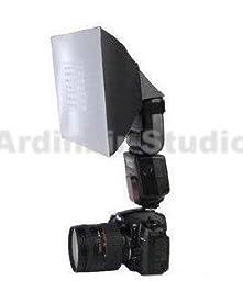 Ardinbir Flash Softbox Diffuser for Canon EOS 450d, 1000d, 550d, 400d, 500d, 350d, Xsi, T1i, T2i, Xti, Xs, Xt, 50d, 40d, 10d, 20d, 7d, 5d Mark Ii, 1d Mark Ii, Iii, Iv, 1ds; Large Size