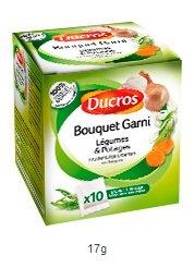 DUCROS - Aides Culinaires - Court bouillons et Bouquets Garnis - Bouquet garni pour legumes et potages