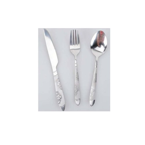 Stainless Steel Cutlery Steak Knife And Fork Spoon Set