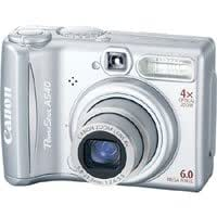 Canon Powershot A540, 6.2mp Point & Shoot Digital Camera Kit - Refurbished by Canon U.S.A.