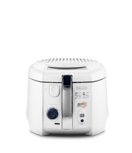DeLonghi-551999-F-28533-Friggitrice-rotoFry-Bianco-wei