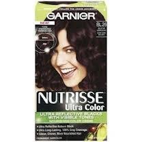 Garnier Nutrisse Permanent Haircolor, Bl 26 Reflective Auburn Black (Pack of 2)