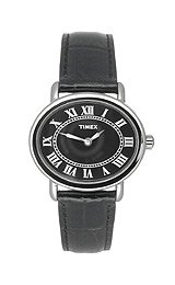 Women's Timex Park Avenue Watch - Black/ Silver