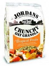 Jordans Crunchy Cereal Tropical Fruit 770g