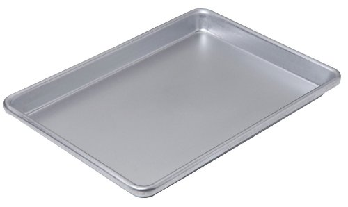 Chicago Metallic Commercial II Non-Stick Small Cookie/Jelly Roll Pan, 13