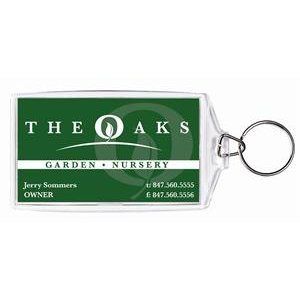 Amazoncom create your own acrylic business card for Keychain business cards