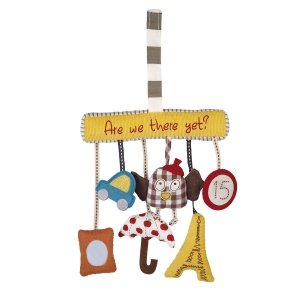 Mamas & Papas Activity Travel Charm Toy - Are We There Yet - 1