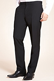 Limited Collection Flat Front Super Slim Fit Eveningwear Trousers