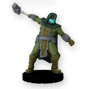 Heroclix Marvel Galactic Guardians Fast Forces #006 Ronan the Accuser Figure Complete with Card - 1