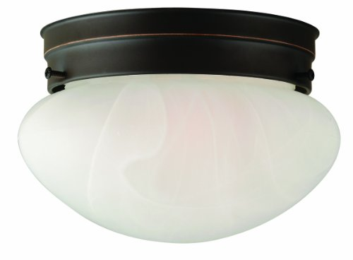 Design House 514547 Millbridge 1-Light Ceiling Mount, 5-Inch By 7-7/8-Inch, Oil Rubbed Bronze front-187104