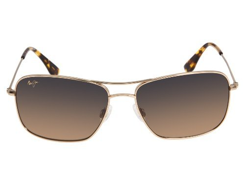 New Maui Jim Wiki Wiki HS246/16 Gold / HCL Bronze Polarized Sunglasses<br />