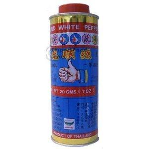 2 Thai White Pepper Powder Prik Thai 20 Gram Each