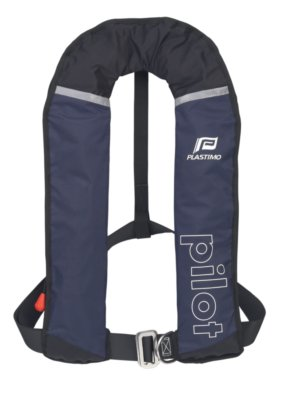 Automatische Rettungsweste Pilot 150N -ISO- Lifebelt blau