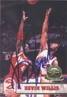 Kevin Willis Atlanta Hawks 1993 Hoops Autographed Hand Signed Trading Card. by Hall+of+Fame+Memorabilia