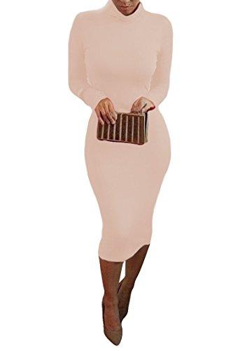 alaix-atractivo-vestido-de-cuerpo-entero-para-mujer-falda-con-manga-larga-cuello-alto-y-largo-por-de