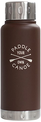IZOLA Paddle Your Own Canoe Water Bottle, 10-Ounce