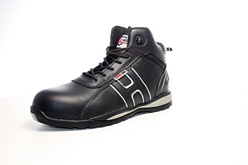 Chaussures de sécurité hautes unisexes Cuir, embout acier, Conformes CE – A3 Hiker EU / UK