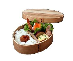 祭りのええもん 曲げわっぱ 小判弁当箱 ナチュラル 日本国内仕上げ