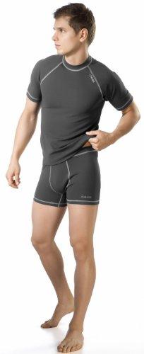 gWINNER ® Herren Funktionsunterwäsche SET - Kurzarm Shirt + Shorts - SILVERPLUS® CLASSIC - SOFT Line