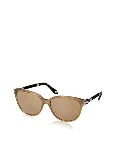 Givenchy Women's SGV918 Sunglasses, Metal/Gold/Grey/Beige