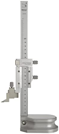 Mitutoyo 506-207 Vernier Height Gauge, 0-200mm Range, 0.02mm Resolution, +/- 0.03mm Accuracy, 1.4kg Mass