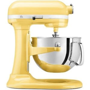 New Kitchenaid Pro Stand Mixer 450-W 5-Qt Kv25G0Xmy All Metal Magestic Yellow One Day Shipping Good Gift Fast Shipping front-127193
