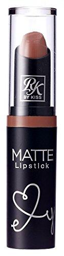 Ruby Kisses Ultra Matte Super Rich Lipstick 3.5g/0.12oz (RMLS03 BROWN SUGAR)