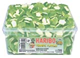 HARIBO TERRIFIC TURTLES - BUBBLE GUM FLAVOUR SWEET FOAM GUMS SWEETS 300 PIECES