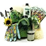 Art of Appreciation Gift Baskets Gardener's Relief Spa Bath and Body Set Tote