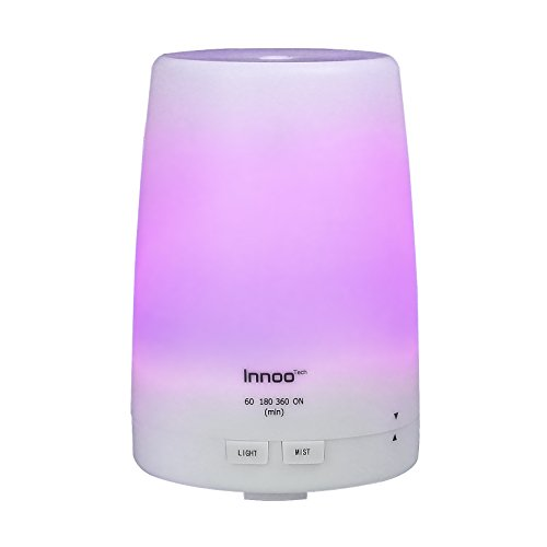 Innoo Tech Essential Oil Diffuser 300ml | The 3rd Version Aromatherapy Diffuser & Humidifier Cool Mist | Long Lasting with 4 Timer Settings & 7 Color LED Lights for Bedroom, SPA, Office (S2000 Humidifier compare prices)