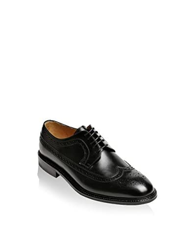 British Passport Derby Box Calf [Nero]