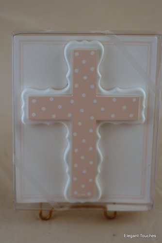 MMs Designs CP815 Pink Dot Cross