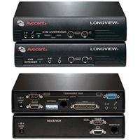 Avocent - Ricetrasmettitore LongView Companion LV830 per monitor, tastiera e mouse/audio/serie esterna fino a 152,4 m
