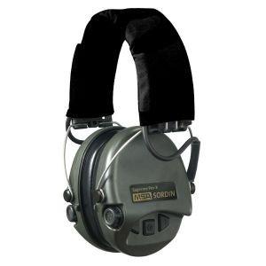 MSA Sordin Supreme Pro X Black Headband with BLACK Cups.