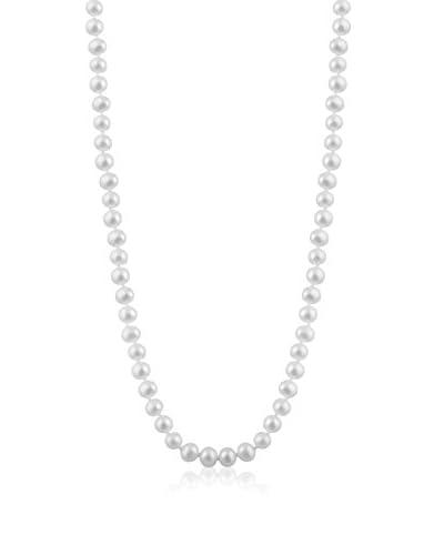 Splendid 6-6.5mm White Freshwater Pearl Necklace