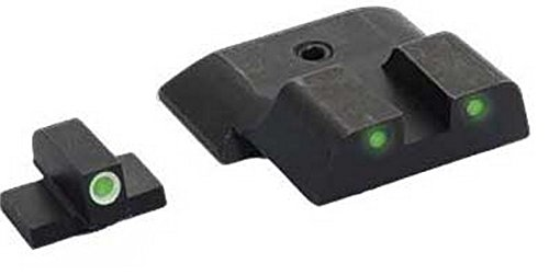 Ultimate Arms Gear Sw-801 All M&P Models (Except Shield), Classic 3 Dot Night Sight Set Green Front Green Rear