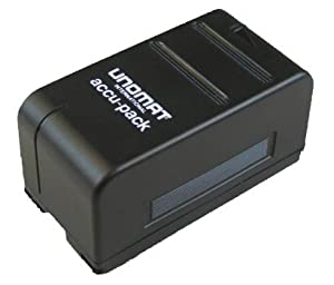 Unomat VM-BP 82 Batterie pour caméra Hitachi VM-BP22/VM-BP81/VM-BP82/VM-BP82G/VM-BP83/VM-BP84