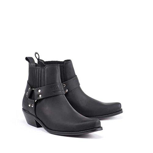 Esscelent Fashion 4709 Stivali di Pelle Uomo Prodotto Spagnolo