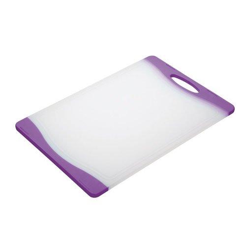 Kitchen Craft Colourworks Planche à découper réversible Violet