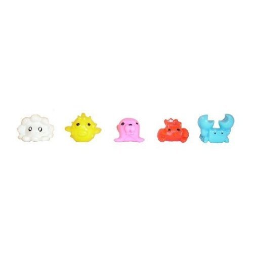 Squishy Websites : SEA MANIA 2- Complete Set of 5 Squishies W/ GAME CODES FOR SQWISHLAND WEBSITE Toys