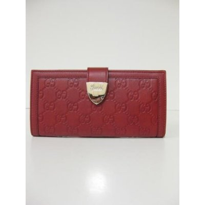 Gucci Wallets Red Guccissima women 231837