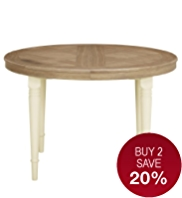 Greenwich Oval Extending Dining Table