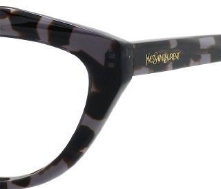 Yves Saint LaurentYves Saint Laurent 6370 Eyeglasses-0AB8 Havana Gray-53mm
