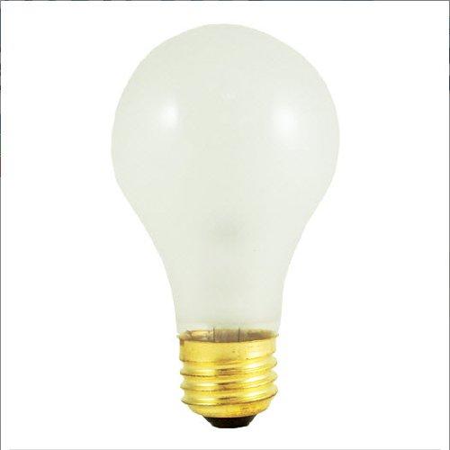 Bulbrite 107100 - 20Pk - 100W - A19 - E26 Base - 130V - 2700K - 4,000Hrs - Frost - Incandescent Rough Service Light