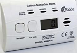 Kidde 10LLDCO Carbon Monoxide Alarm - Sealed-In Battery - 10 Year Guarantee by Kidde