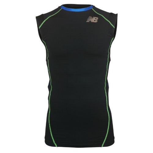 (ニューバランス)new balance パワーシャツ インパクト スリーブレスT コンプレッション NBR41104M 090 ブラック O