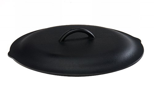 Lodge L10SC3 Cast Iron Lid, 12-inch (Lodge Cast Iron Green compare prices)